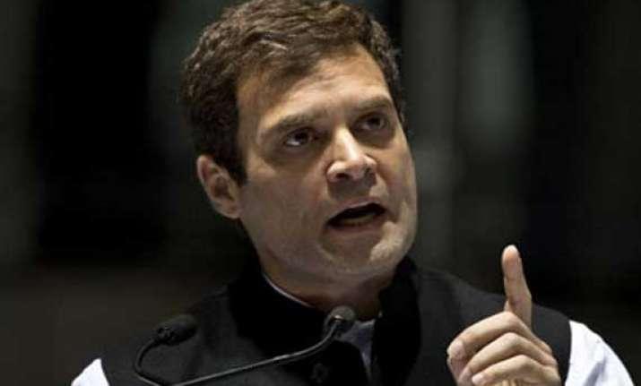 shun the groupism rahul gandhi to haryana congress leaders