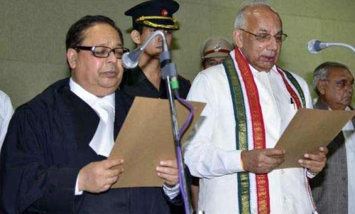 solanki sworn in as haryana governor