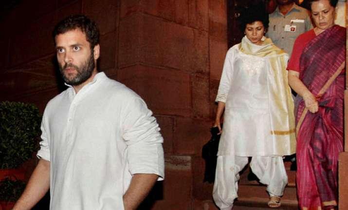 sonia gandhi is fine says congress