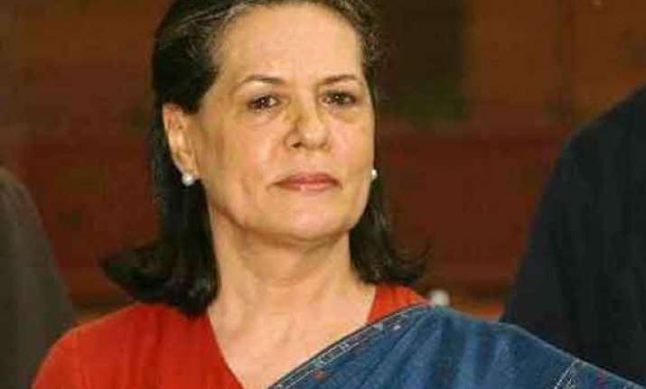 sonia gandhi to decide on alliance in kashmir