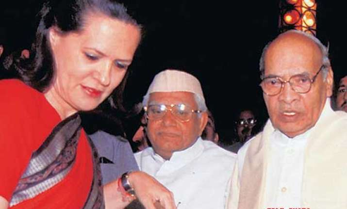 sonia narasimha rao had strained relations union minister k