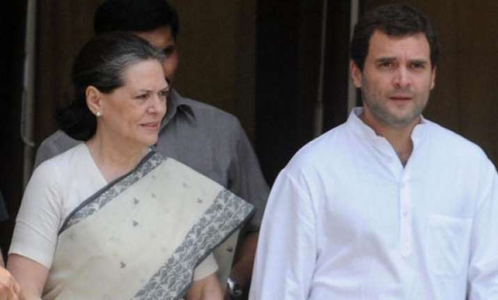 sonia rahul accept responsibility for party s defeat