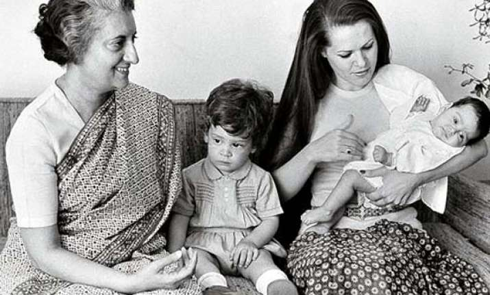 sonia gandhi and her family a trip down the memory lane