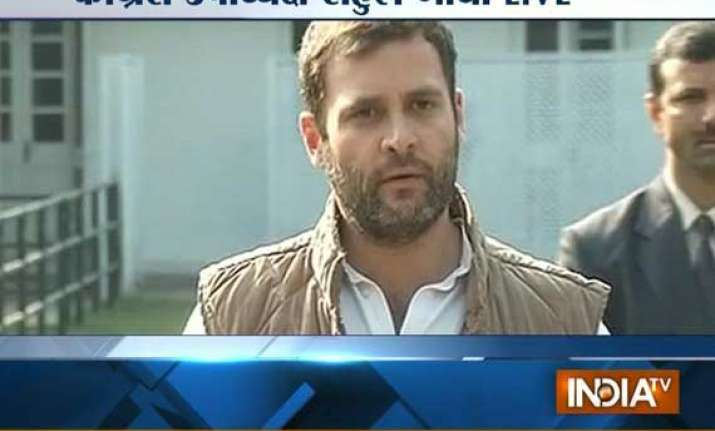 spare a day for anti graft welfare bills rahul urges parties