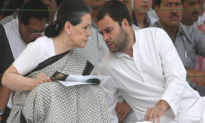 speculation that rahul and sonia could offer to resign at