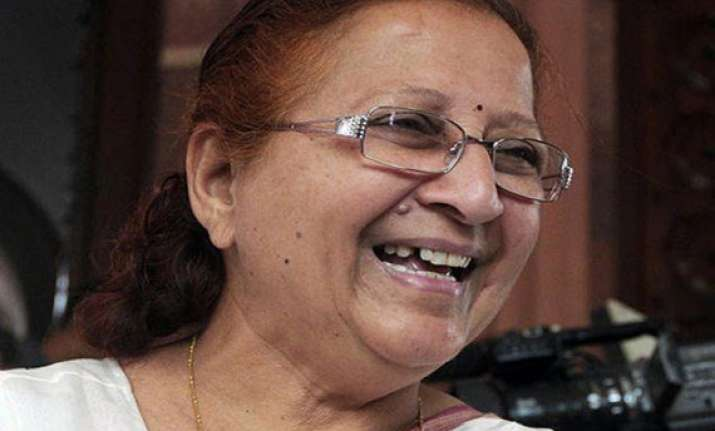 sumitra mahajan to be next speaker