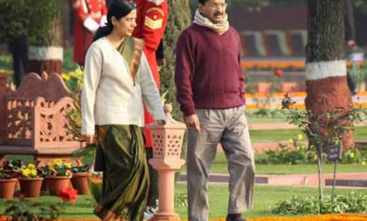 sunita and arvind kejriwal just made for each other