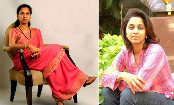 supriya sule the daughter and political heir of sharad pawar