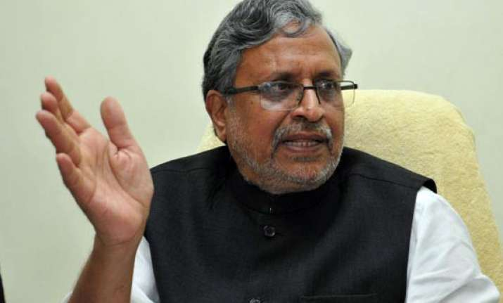 sushil modi resigns as gst panel chief