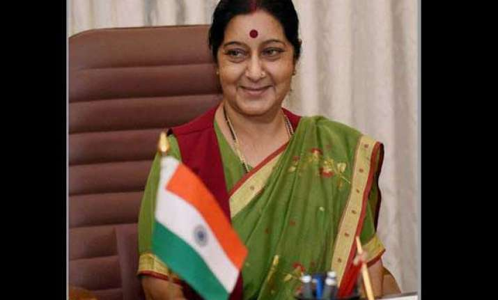 sushma swaraj to visit dhaka on june 25 27