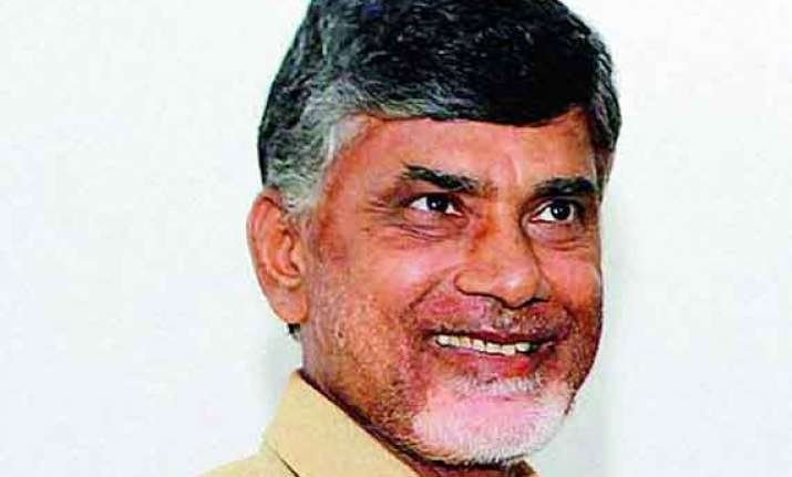 tdp chief invites telangana cm to his swearing in ceremony