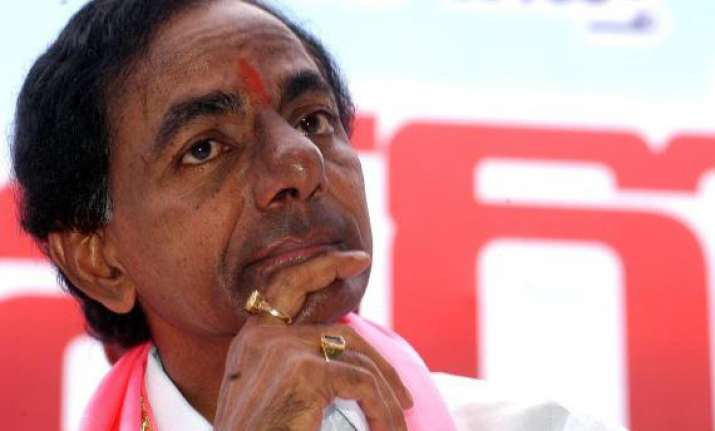 trs to consider merger with congress after telangana bill