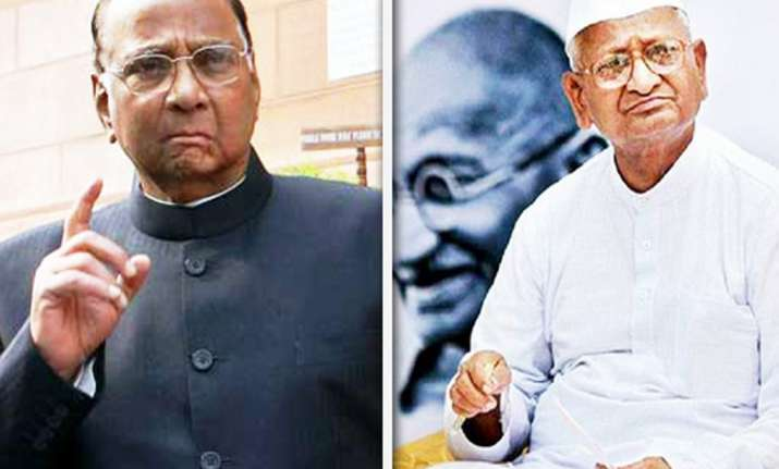 team anna s allegations against pm irresponsible says pawar
