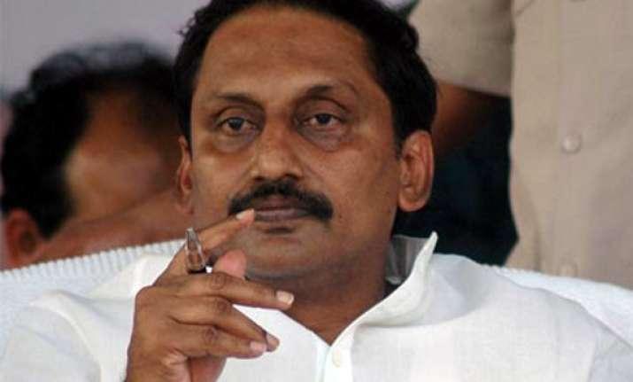 telangana andhra cm denies resignation reports