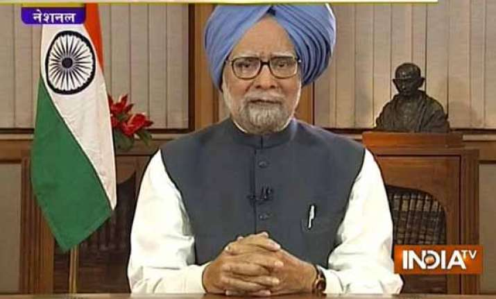 text of pm manmohan singh s last address to the nation