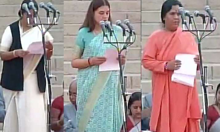 the women brigade in pm narendra modi s cabinet