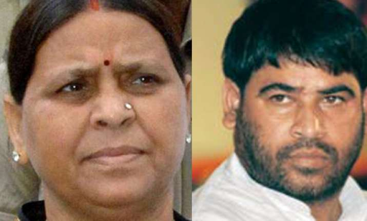 there is no brother or sister in bihar poll battle