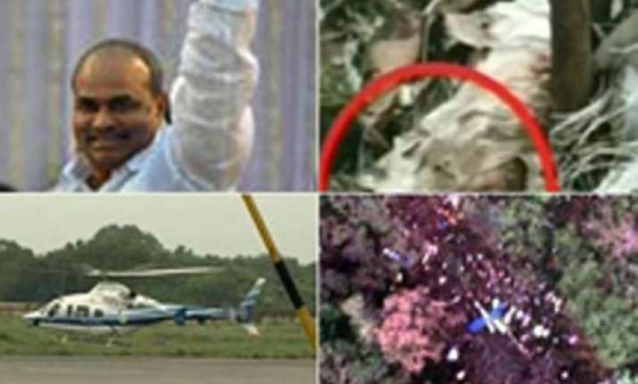 there was conspirancy behind ysr s chopper crash alleges
