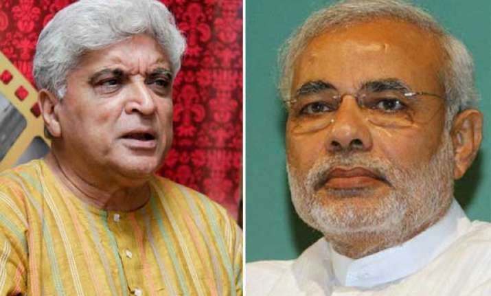 this man modi is not democratic javed akhtar