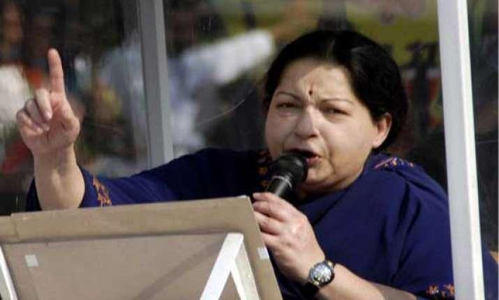 throw out congress to make india strong jayalalithaa tells