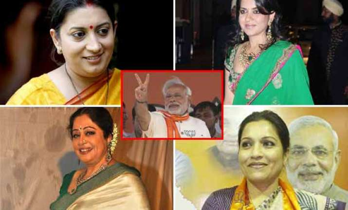 top 10 female supporters of prime minister narendra modi