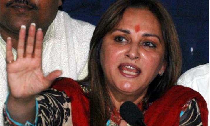 up riots should not be used to derive poll gains jaya prada