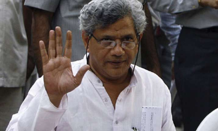 upa eyeing to make food bill an election issue yechury