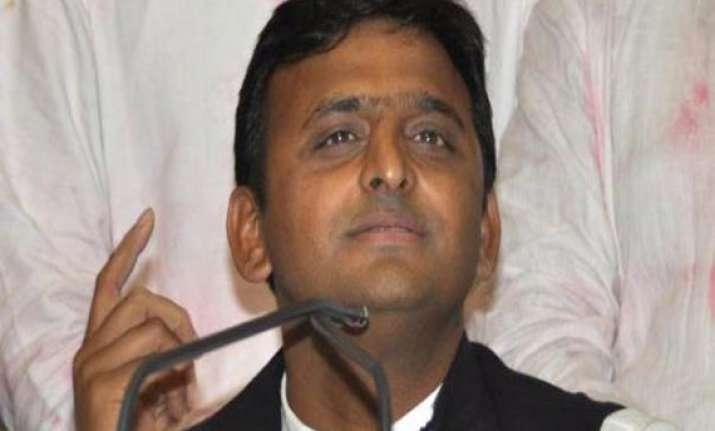 up bjp demands resignation of akhilesh