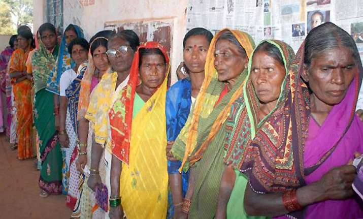 up phase i polls female turnout percentage higher