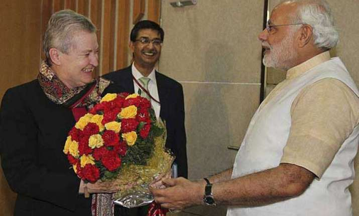 us envoy s meeting with modi a necessary step nyt