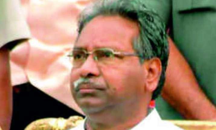 union minister sambasiva rao resigns
