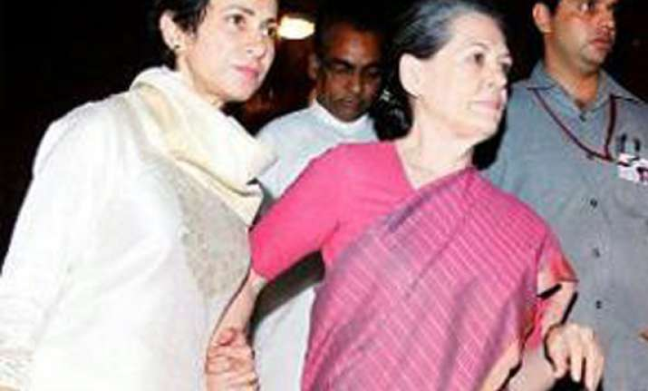 unwell sonia could not witness passing of food bill in ls