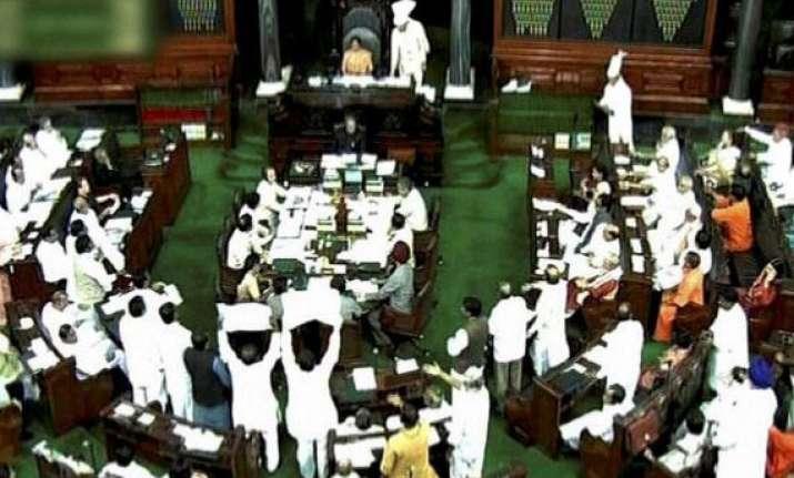 uproar in parliament over kishtwar riots khemka s claims