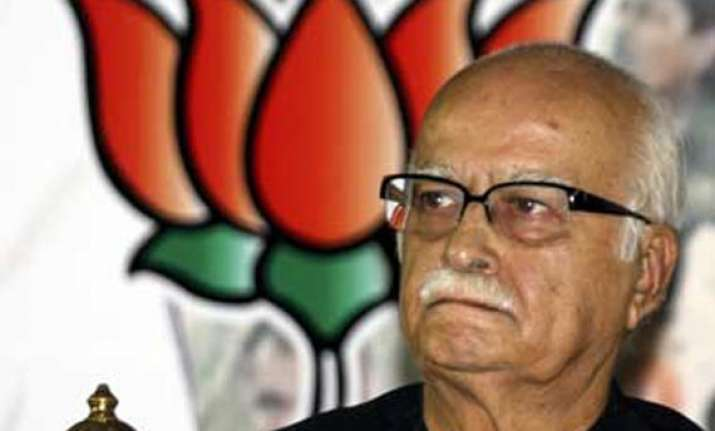 a bomb bjp leaders flock to persuade advani to withdraw