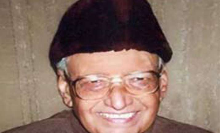 uttarakhand s first cm nityanand swami passes away