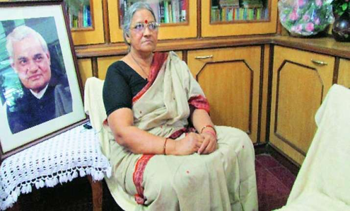 vajpayee s niece karuna shukla joins congress says bjp has