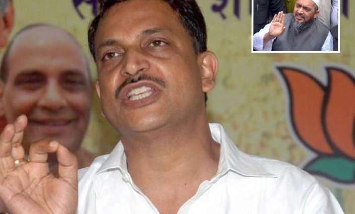 vastanvi s removal a setback to secular forces bjp