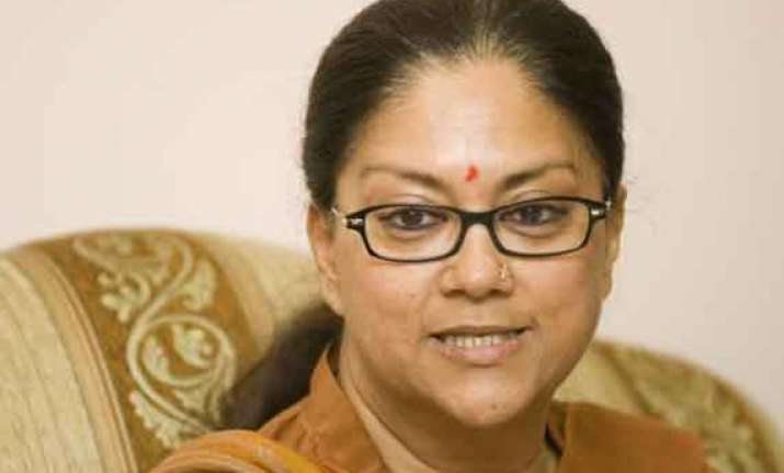 vasundhra raje calls on pm modi
