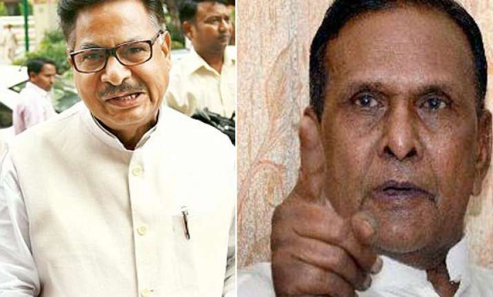 verma punia rivalry comes to fore at rahul s roadshow