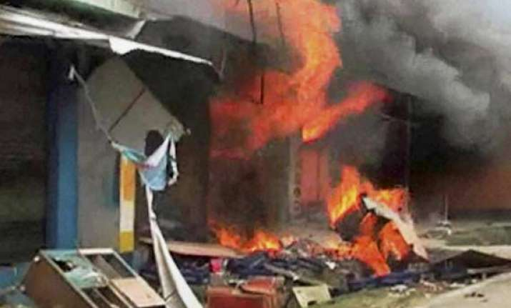 violent clashes in saharanpur rajnath speaks to akhilesh