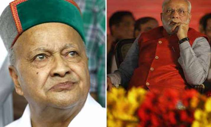 virbhadra singh now turns to narendra modi for central