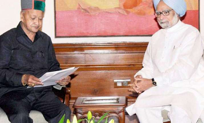 virbhadra meets pm seeks rs.1 000 crore calamity relief