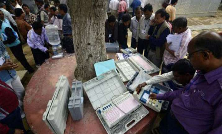 assembly results left retains tripura congress and npf may