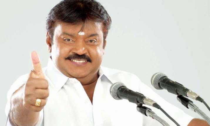 vote for modi to eradicate corruption vijaykant