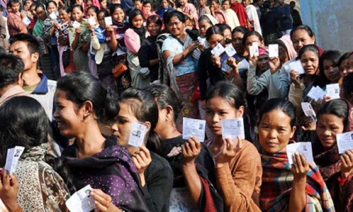 voting begins in meghalaya