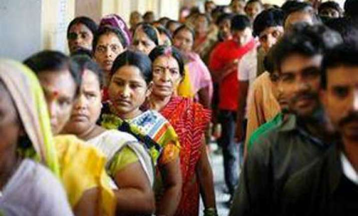 ls polls 2014 turnout between 71 to 82 per cent in tripura
