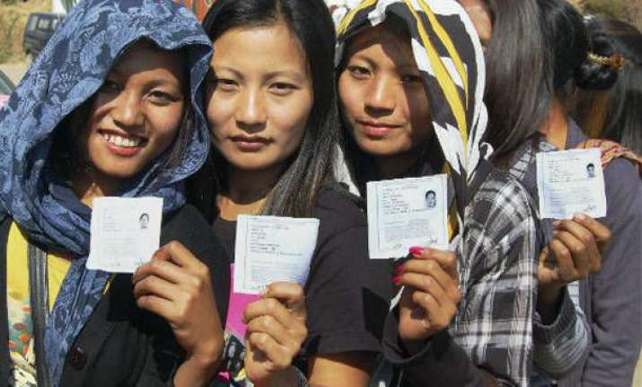 voting begins peacefully in nagaland