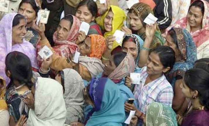 voting rises in up s reserved lok sabha seats