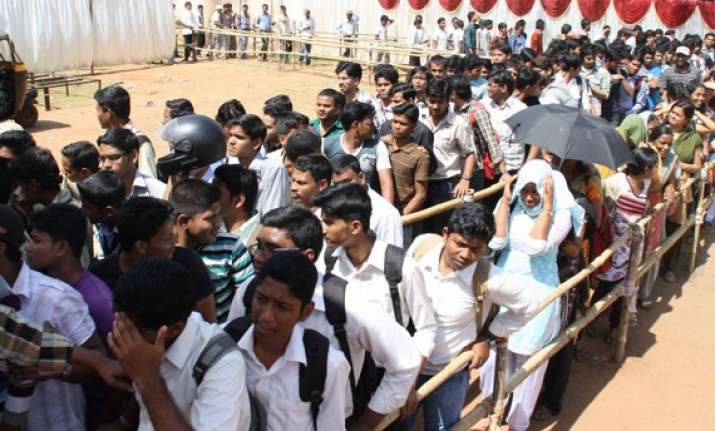 voting under way in odisha for ls assembly polls