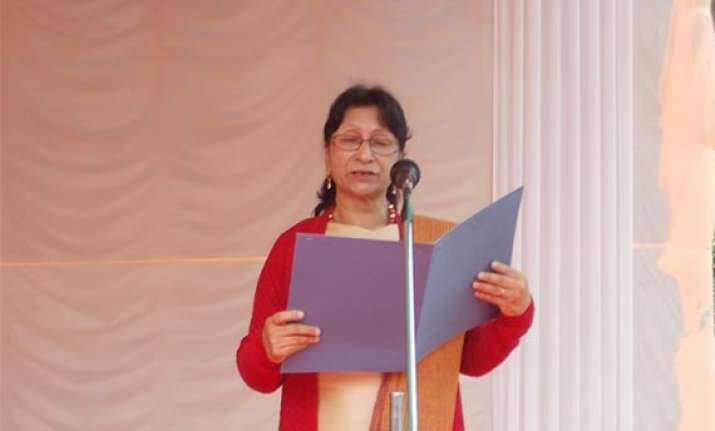 warjri is meghalaya s first woman home minister